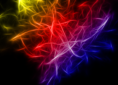 abstract, lights, multicolor, Fractalius - random desktop wallpaper