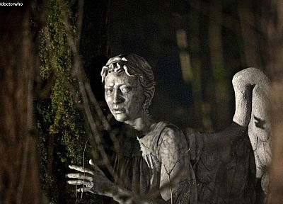 Doctor Who, weeping angel - desktop wallpaper