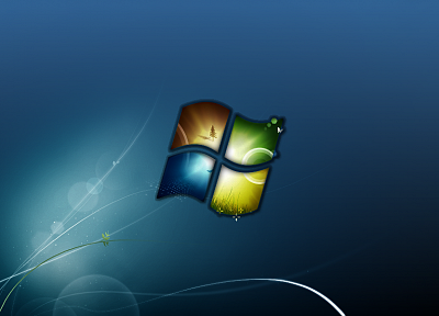 windows logo - random desktop wallpaper