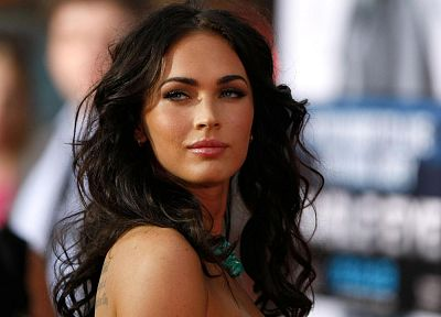 brunettes, women, American, Transformers, Megan Fox, actress, models, celebrity - related desktop wallpaper