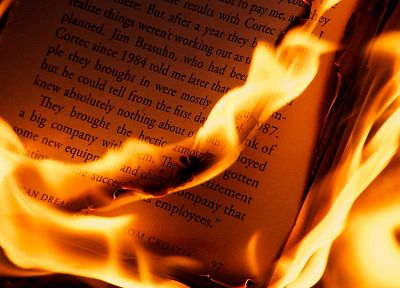 text, fire, books, burning, pages - random desktop wallpaper