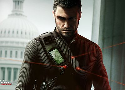 video games, Splinter Cell, Tom Clancy, Splinter Cell Conviction - random desktop wallpaper