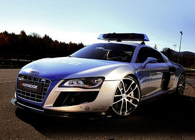 cars, police, Audi R8 - random desktop wallpaper