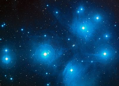 outer space, stars, Pleiades - related desktop wallpaper