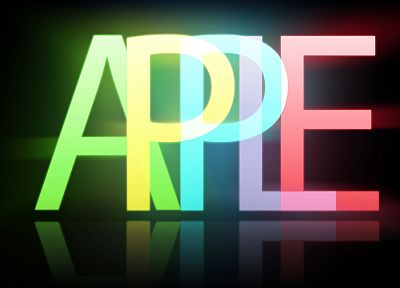 multicolor, Apple Inc., typography - random desktop wallpaper