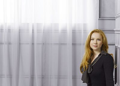 women, blue eyes, actress, redheads, Molly Quinn, Castle TV Series - random desktop wallpaper