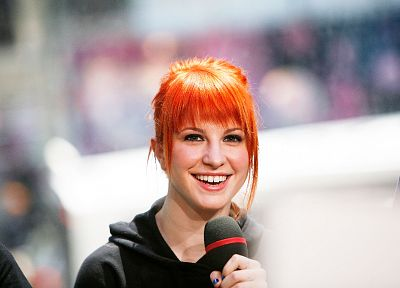 Hayley Williams, women, music, redheads - random desktop wallpaper