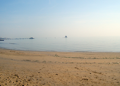 Sun, seaside, Lignano, sea, beaches - desktop wallpaper