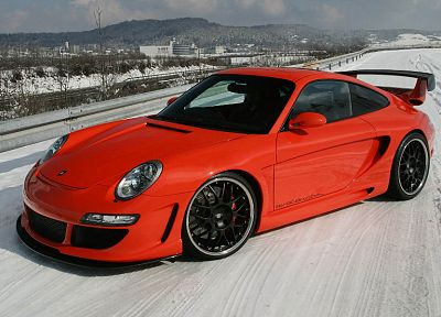 snow, Porsche, cars - related desktop wallpaper