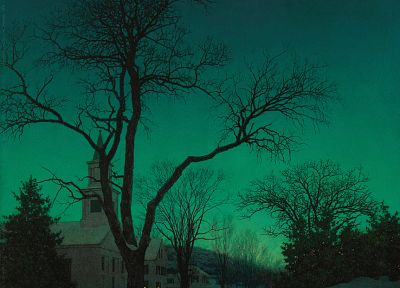 paintings, Maxfield Parrish - random desktop wallpaper