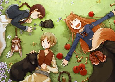 Spice and Wolf, animal ears, Holo The Wise Wolf - random desktop wallpaper