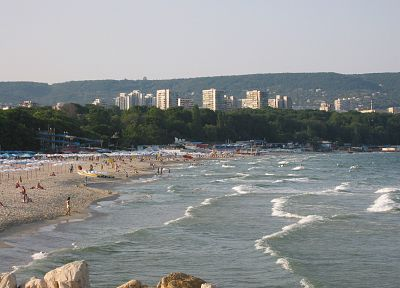 Varna Bulgaria, sea - random desktop wallpaper