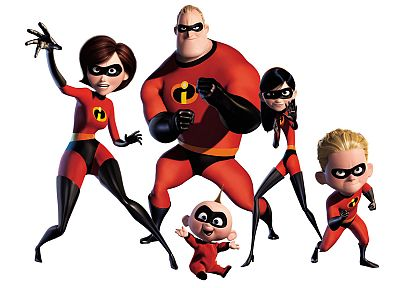 The Incredibles, Elastigirl - random desktop wallpaper