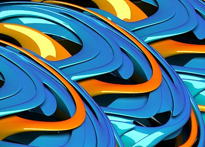 abstract, blue, glossy texture - related desktop wallpaper