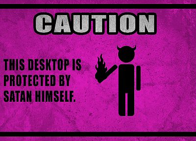 funny, horns, caution - random desktop wallpaper