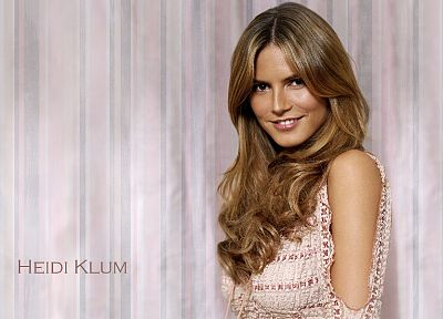 women, models, Heidi Klum, celebrity - desktop wallpaper