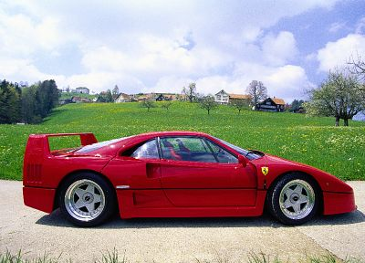 Ferrari F40 - random desktop wallpaper