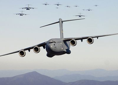 aircraft, military, planes, cargo aircrafts, C-17 Globemaster - related desktop wallpaper