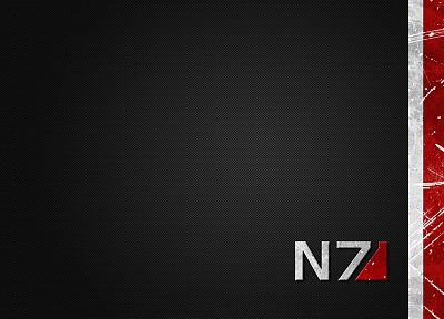 video games, Mass Effect, N7 - desktop wallpaper