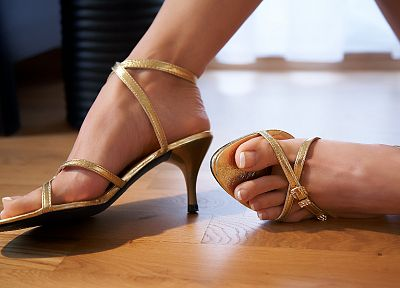 feet, high heels, sandals - random desktop wallpaper
