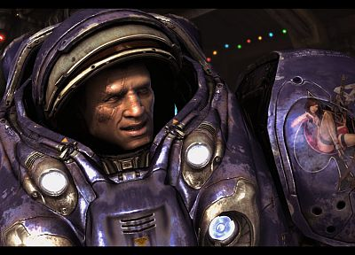 video games, StarCraft, StarCraft II - random desktop wallpaper