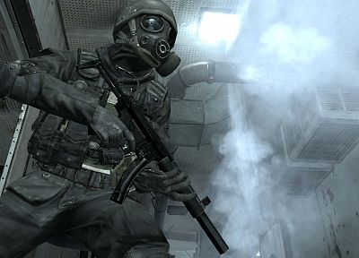 video games, Call Of Duty 4: Modern Warfare, SAS - related desktop wallpaper
