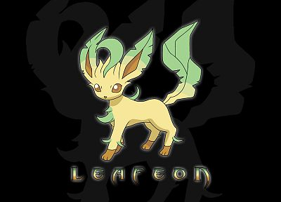 Pokemon, Eeveelutions, black background - related desktop wallpaper