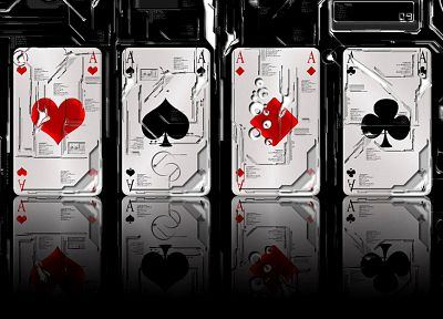 cards, poker, Ace, playing cards, ace of spades - desktop wallpaper