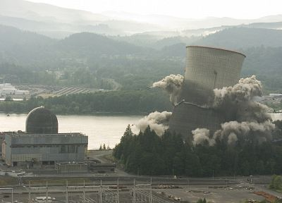 buildings, nuclear power plants, demolitions - random desktop wallpaper