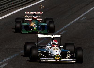 cars, Jordan, Formula One, vehicles, racing, Lotus - related desktop wallpaper