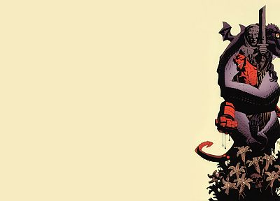 comics, Hellboy - random desktop wallpaper
