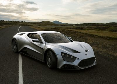 cars, Zenvo ST1, side view - desktop wallpaper