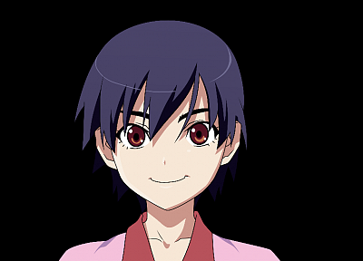 Bakemonogatari, transparent, anime, Kanbaru Suruga, Monogatari series, anime vectors - random desktop wallpaper
