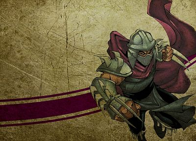 Teenage Mutant Ninja Turtles, Shredder - random desktop wallpaper