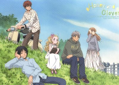 Hachimitsu to Clover, Honey and Clover - desktop wallpaper