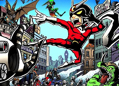 video games, Capcom, Viewtiful Joe, 3D - related desktop wallpaper