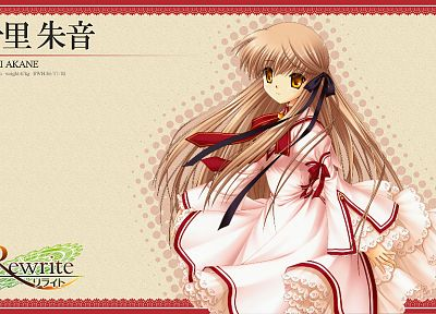 visual novels, Rewrite, Senri Akane - random desktop wallpaper