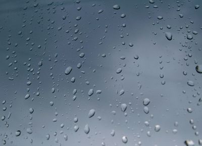 water, minimalistic, rain, water drops, condensation, rain on glass - desktop wallpaper