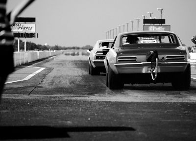 black and white, cars, grayscale - related desktop wallpaper