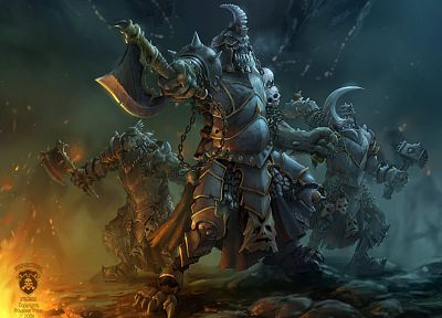 fantasy, Warmachine, artwork - random desktop wallpaper