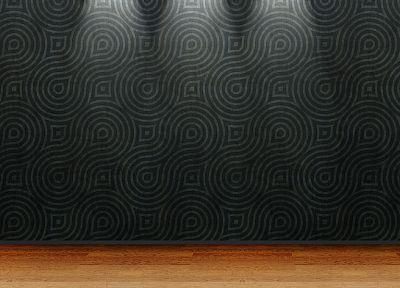 floor, 3D view, room, wood floor - random desktop wallpaper