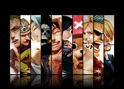 One Piece (anime) - duplicate desktop wallpaper