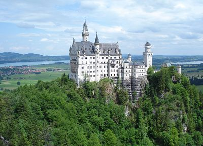 castles, Neuschwanstein Castle - random desktop wallpaper