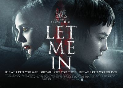 horror, movies, Chloe Moretz, Let Me In, movie posters - random desktop wallpaper