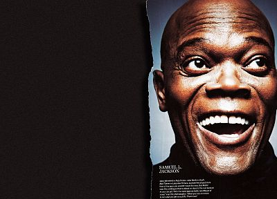 men, Samuel L. Jackson, faces - random desktop wallpaper