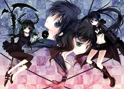 Black Rock Shooter, Dead Master, anime - desktop wallpaper