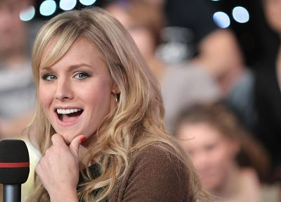 women, Kristen Bell, actress - desktop wallpaper