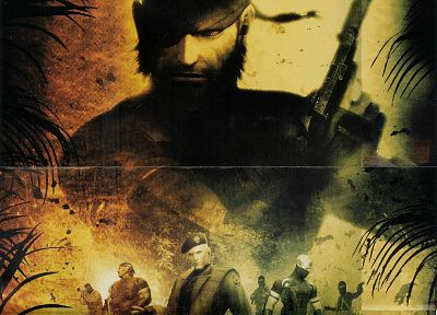 Metal Gear, video games, Metal Gear Solid, Solid Snake - random desktop wallpaper