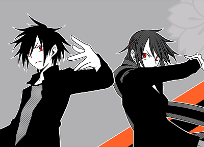 red eyes, anime, Yozakura Quartet, Hime Yarizakura, Kyōsuke Kishi - related desktop wallpaper