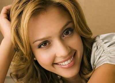 blondes, women, Jessica Alba, actress - related desktop wallpaper